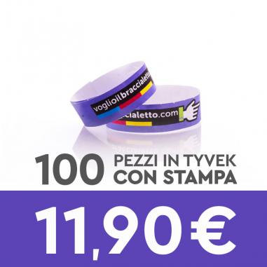 Offerta 100 pezzi – braccialetti di...