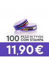 Promopack 5000 – Braccialetti di Carta / Tyvek Stampati SPEDIZIONE GRATUITA