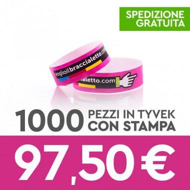 Offerta 1000 pezzi – braccialetti di...